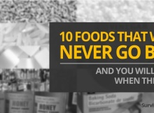 10 Foods That Will Never Go Bad
