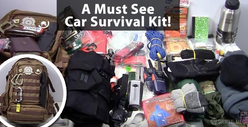 A Must See Car Survival Kit Emergency Bag Video