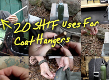 20 SHTF Uses For Coat Hangers