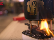 Mint Tin Backpacking Stove